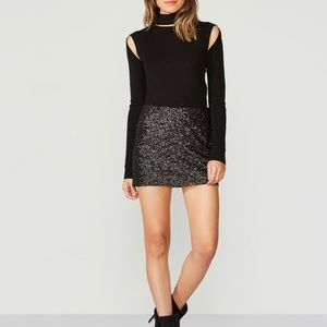 🖤LUDI FOR Victoria Secret Sequin Mini Skirt 🖤